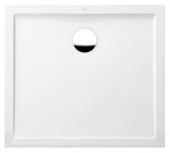 Villeroy & Boch Futurion Flat - Shower tray retangular 1000x800 star branco without antislip