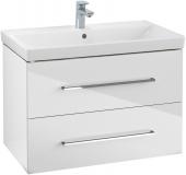 Villeroy & Boch Avento - Waschtischunterschrank 760 x 520 x 447 mm crystal white