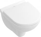 Villeroy & Boch O.novo - Tiefspül-WC Compact 360 x 490 mm DirectFlush wandhängend weiß alpin C+