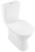 Villeroy & Boch O.novo - Tiefspül-WC Kombination spülrandlos Vita 360x700 DF weiß alpin AB C+