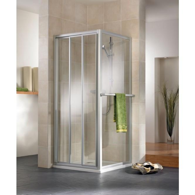 HSK - Sliding door 3-piece, 54 Chinchilla 750 x 1850 mm, 96 special colors