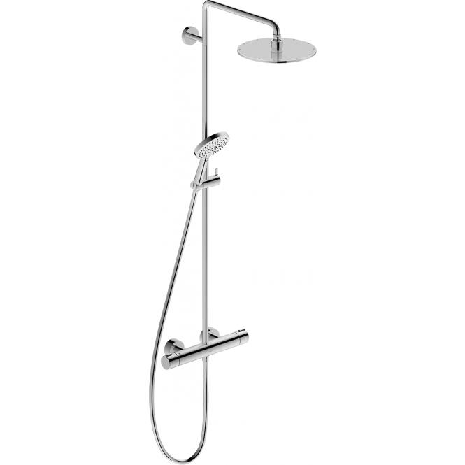 Duravit C.1 - Shower System mit Brausethermostat chrom