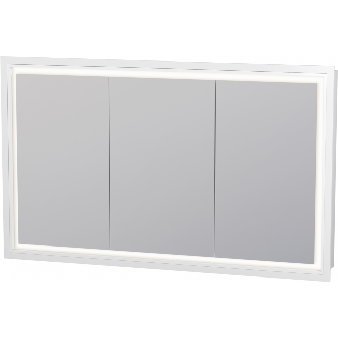 Duravit L Cube Mirror Cabinet 1200 X 700 Mm With Led