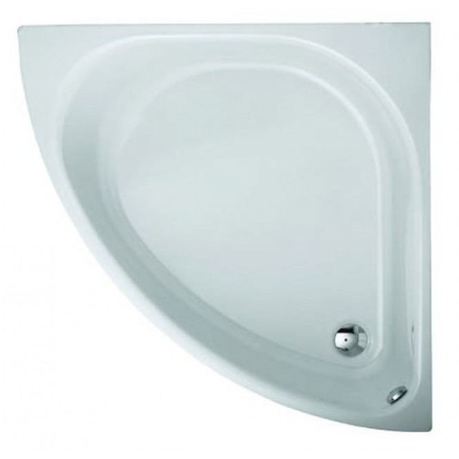 BETTE Bettearco - Corner bathtub 1400 x 1400mm beige