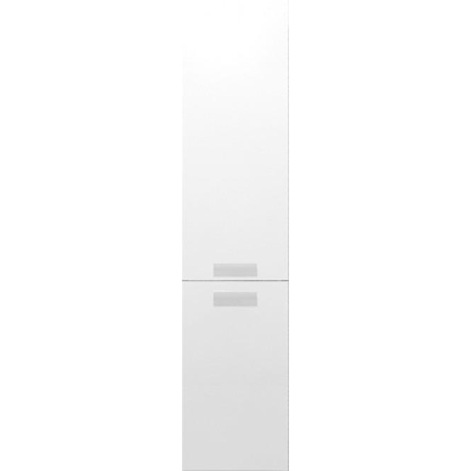 Burgbad Essento - Hochschrank weiss hochglanz Acryl