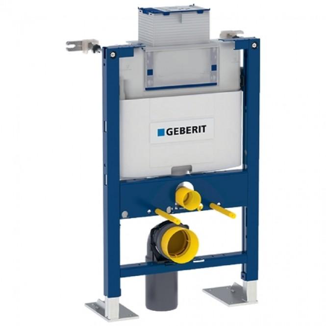Geberit Duofix - Montageelement für Wand-WC 820 mm mit Omega Unterputz-Spülkasten