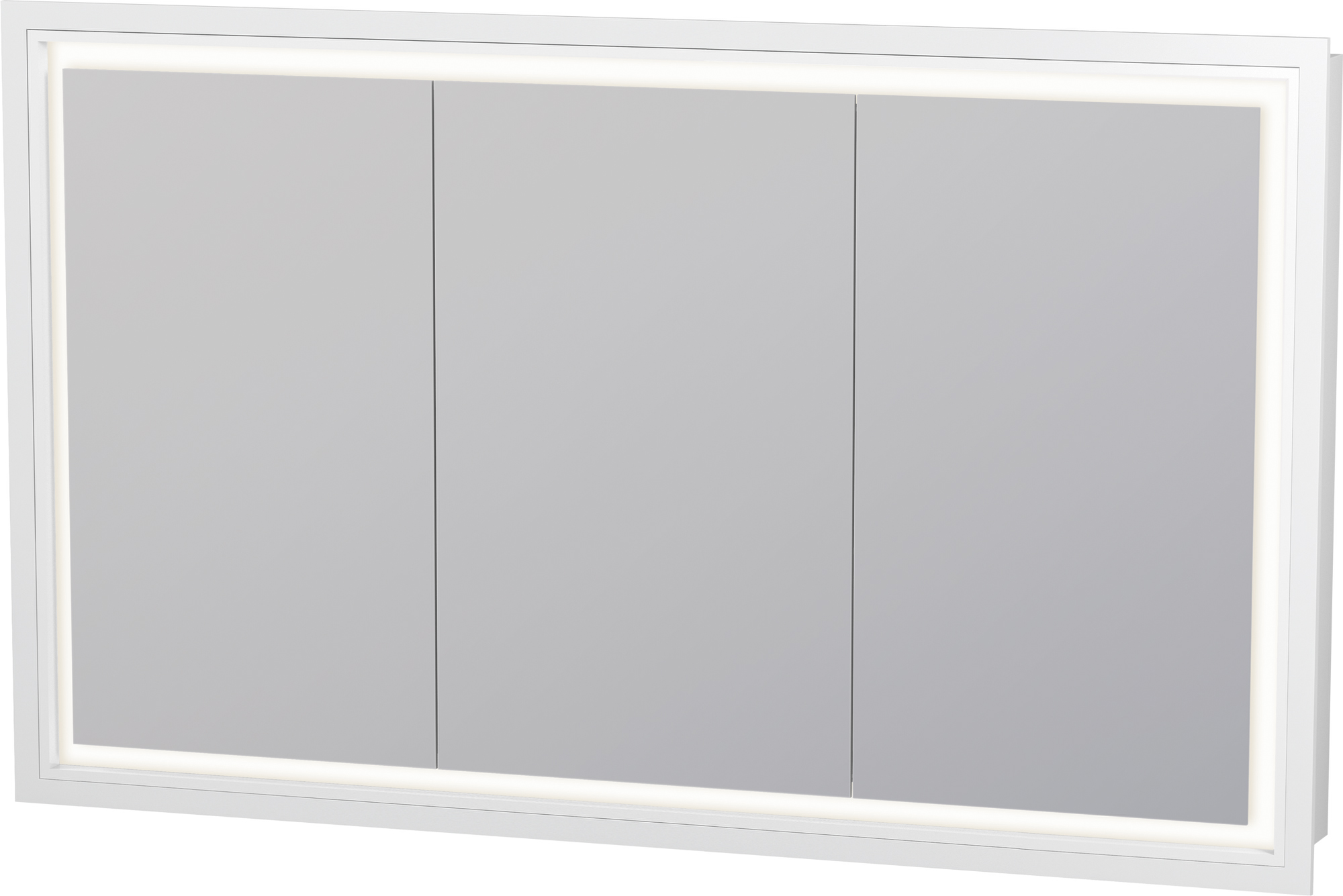 Duravit L Cube Mirror Cabinet 1200 X 700 Mm With Led Lighting