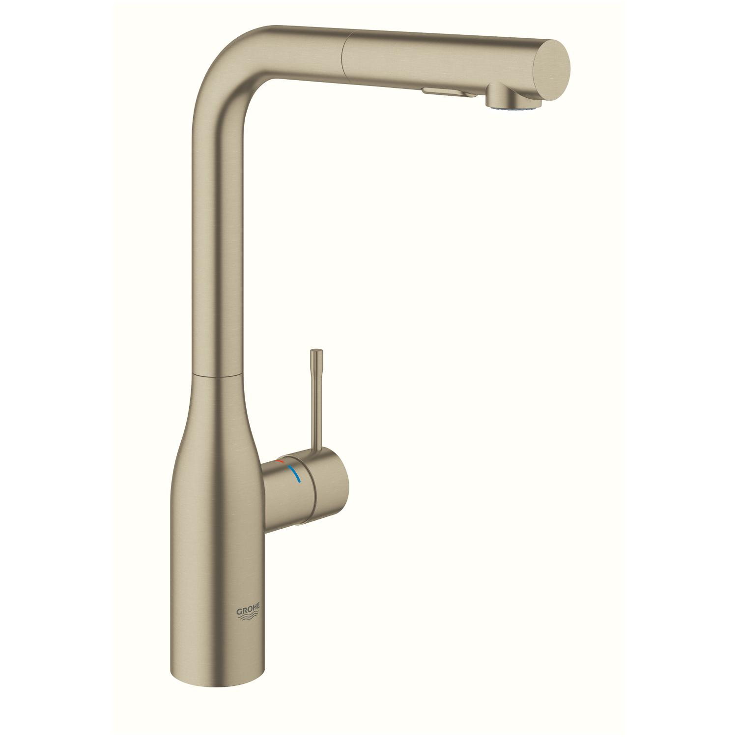 Grohe Essence Chrome High Spout Pullout