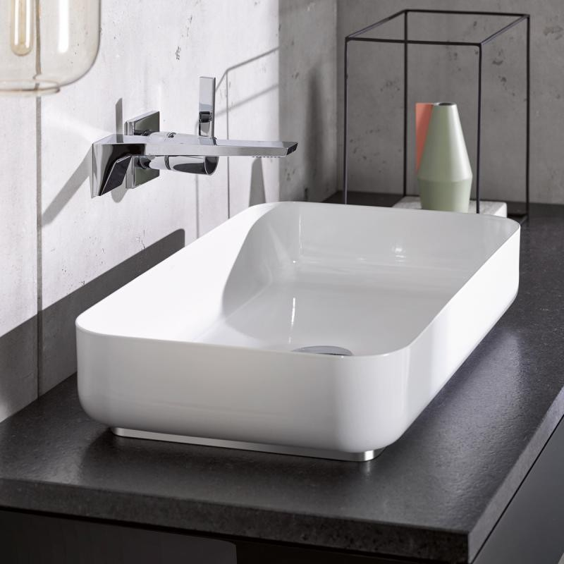 Alape Sb Countertop Washbasin 599 X 349 White Without Coating