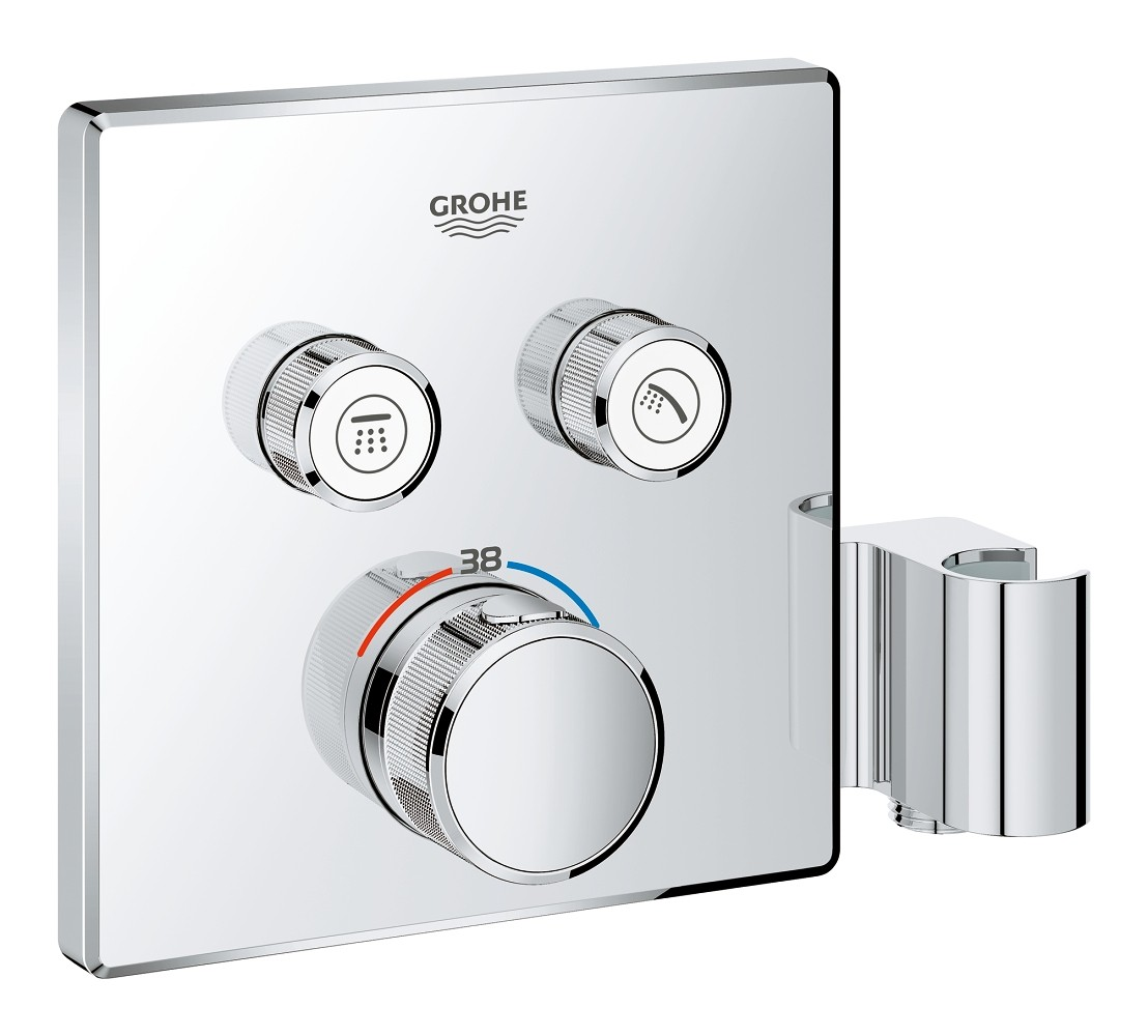 Grohe Grohtherm Smartcontrol Concealed Thermostat For 2 Outlets