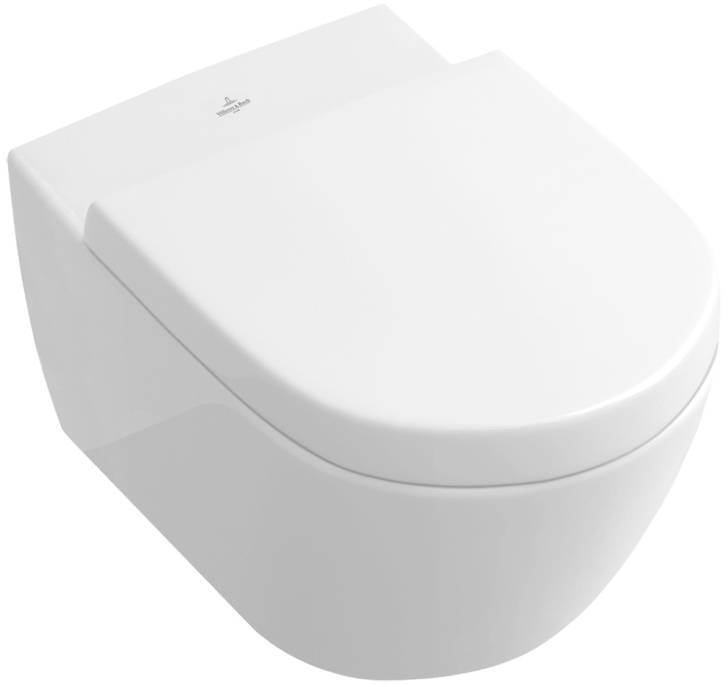 villeroy boch subway 2 0 wall mounted wc star white ceramicplus. Black Bedroom Furniture Sets. Home Design Ideas