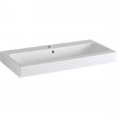 Geberit iCon - Waschtisch 600 x 485 mm mit Hahnloch mit Überlauf weiß