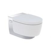 Geberit AquaClean Mera Comfort - Dusch-WC Komplettanlage 590 x 360 mm mit LED weiß / chrom