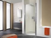 HSK - Revolving door niche exclusive, 01 Alu silver matt 750 x 1850 mm, 52 gray