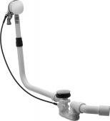 Duravit - Mehrpreis für Ab-und Überlaufgarnitur mit Wanneneinlauf BZL725mm chrom