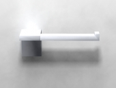 Dornbracht Symetrics - Toilet roll holder platinum matt