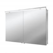Emco Asis Pure LED - Lichtspiegelschrank mit Unterlicht 1000 mm LED neutralweiss 4000k