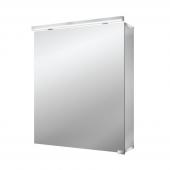 Emco Asis Pure LED - Lichtspiegelschrank mit Unterlicht 600 mm 1 Tür LED neutralweiss 4000k