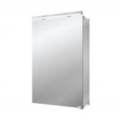 Emco Asis Pure LED - Lichtspiegelschrank mit Unterlicht 500 mm 1 Tür LED neutralweiss 4000k