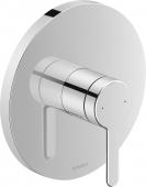 Duravit C.1 - Einhebel-Brausemischer Unterputz rund 195 x 195 x 195 mm