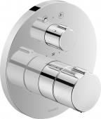 Duravit C.1 - Wannenthermostat Unterputz mit Abstell- / Umstellventil rund 195 x 195 x 195 mm