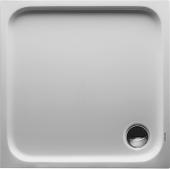 Duravit D-Code - Duschwanne 800 x 800 x 85 mm Quadrat weiß