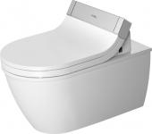 Duravit Darling New - Wand-WC 620 mm Tiefspüler für SensoWash mit Anschluss rechts weiß HG