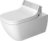 Duravit Happy D.2 - Wand-WC 620 mm Tiefspüler rimless für SensoWash mit Anschluss rechts weiß HG