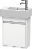 Duravit Ketho - Vanity unit 450 x 550 x 225 mm with 1 door & hinges left white matt