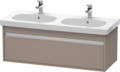 Duravit Ketho - Vanity unit 1150 x 410 x 455 mm with 1 drawer basalt matt