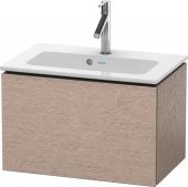 Duravit L-Cube - Vanity unit compact 620 x 400 x 391 mm with 1 drawer oak cashmere