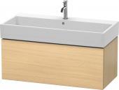 Duravit L-Cube - Vanity unit 984 x 394 x 481 mm with 1 drawer mediterranean oak