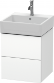 Duravit L-Cube - Vanity unit 484 x 544 x 459 mm with 2 drawers white matt