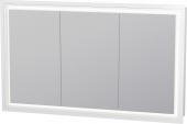 Duravit L-Cube - Spiegelschrank 1200 x 700 mm mit LED-Beleuchtung Anschlag links / links / rechts
