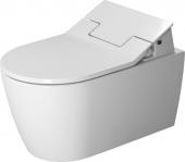 Duravit ME by Starck - Wand-WC 570 mm Tiefspüler Durafi für SensoWash mit Anschluss rechts weiß HG