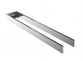Emco Art - Handtuchhalter zweiarmig starr 450 mm chrom