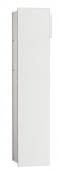 Emco Asis Modul 2.0 - Unterputzmodul 1-türig links 811 mm ohne Einbaurahmen alu / optiwhite