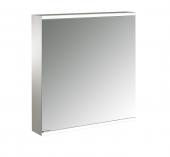 Emco Asis Prime 2 - Lichtspiegelschrank Aufputz 600 mm 1 Tür Anschlag rechts Rückwand verspiegelt