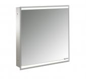 Emco Asis Prime 2 - Lichtspiegelschrank Unterputz 600 mm 1 Tür Anschlag links Rückwand verspiegelt