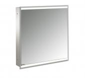 Emco Asis Prime 2 - Lichtspiegelschrank Unterputz 600 mm 1 Tür Anschlag rechts Rückwand verspiegelt