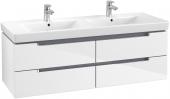 Villeroy & Boch Subway 2.0 - Waschtischunterschrank glossy white
