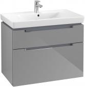 Villeroy & Boch Subway 2.0 - Waschtischunterschrank A914 787 x 590 x 449 mm glossy grey