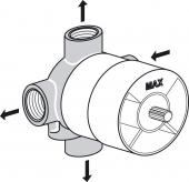 Ideal Standard Unterputz-Bausätze 1 - Concealed unit 1 for 4/3 conversion