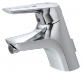 Ideal Standard CeraMix Blue - Single Lever Bidet Mixer with pop-up waste set chrome