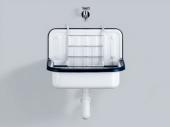 Alape Waschtisch - Ausgussbecken 505 x 330 mm weiß
