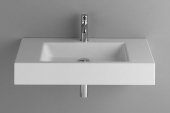 Bette BetteAqua - Wall washbasin 800x495mm white