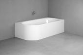 Bette Lux Oval V Silhouette - Badewanne 1750 x 800 mm weiß