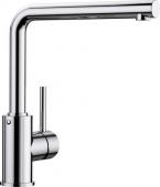 Blanco Mila - Küchenarmatur metallische Oberfläche Hochdruck chrom