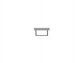 Duravit Darling New - Furniture panel 1680x720mm