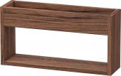 Duravit Ketho - Wandregal 135x500x240mm nussbaum dunkel